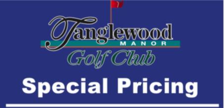 Thank You Tanglewood Golf Club!